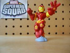 Marvel Super Hero Squad IRON MAN 1st Release Metallic Red Blast Off from Wave 2