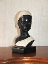 Iconic Vintage1950s Duron Black Lady Bust