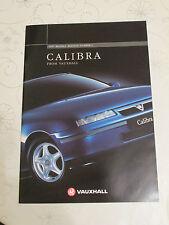 1997 VAUXHALL CALIBRA RANGE BROCHURE