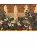 Birds by the Fence Wallpaper Border DC5007B