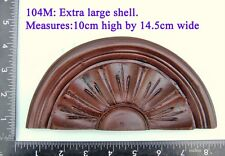 """104M """"Very Large Shell"""" clock case / furniture DIY"""