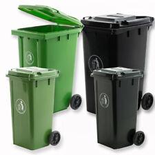 Wheelie Bin 120L/240L Green Black Council Certified EN840 Waste Rubbish Bins