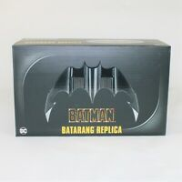 Neca DC Batman Batarang 1989 Batman Movie Prop Replica with Stand