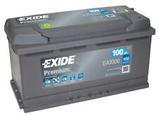 Batteria auto EXIDE EA1000 100AH ampere 900A Premium cod. 3661024034258