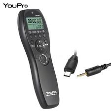 YOUPRO YP-880 S2 CAMERA WIRED SHUTTER RELEASE TIMER REMOTE LCD FOR SONY A5D3
