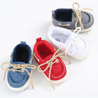 Säugling Kleinkind Baby Jungen Unisex weiche Sohle Wiege Schuhe Sneaker