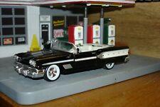 1958 PONTIAC Bonneville, Convertible, Tutone Black & White, 1/43, New Unopened