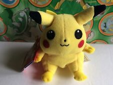 Pokemon plush Pikachu bean bag vintage old school stuffed doll toy go figure #25