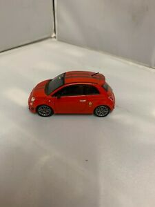FIAT 500 ABARTH TRIBUTO FERRARI 1:43 SCALE  NEW RARE MODEL (NO BOX).