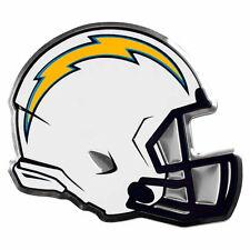 "NFL Licensed San Diego Chargers Helmet Premium Aluminum Emblem 4""x3.5"" New"