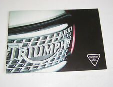 Prospekt / Broschüre Triumph Daytona, Thunderbird, Trophy, Trident - Stand 1996!