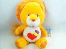 "Care Bear Cousins Brave Heart Lion 14"" Plush Orange Stuffed Animal Nanco 2005"