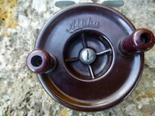 VINT. 'THE ALPHA' Victorian made 1950s Fishing Reel F/Post COLLECTABLE.3-1/4inch