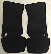 Autoteppich Fußmatten für Ford Capri 2 & 3 schwarz Velours 4teilig Neuware