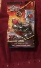 RARE FIGURINE POWER RANGERS MEGAFORCE ROBO KNIGHT LION CYCLE MIRACLE MOTO NEUF