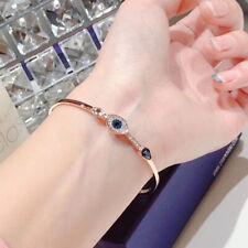 Swarovski crystal evil eyes bracelet jewelry