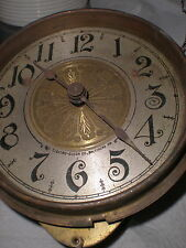 "Antique-Battery Clock Movement-Ca.1910-To Restore""Electro-Clock Co. Baltimore MD"