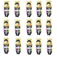 15 ProX 3 Pin DMX 10 ft Premium Shielded Data DJ Lighting Cables XLR Male Female