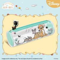 Disney Classic Bambi Round Pouch Travel Zipper Bag 3D Figurine Childhood Dream
