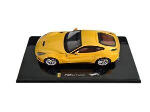 Hot Wheels Elite 1/43 - Ferrari F12 Berlinetta Yellow
