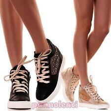 Scarpe donna sneakers da ginnastica fitness sport palestra sportive nuove 27172