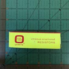 Ohmite Vitreous Enamel Power Tubular Resistor 15k ohm 50 watt 0416 Fixed