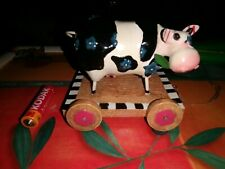 More details for cow ornament