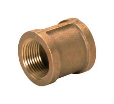 JMF  2 in. Female   x 1-1/2 in. Dia. FPT  Brass  Coupling