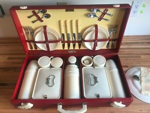Harrods Picnic Set by Brexton *NO RESERVE AUCTION* 1950-54 complete original