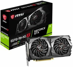 MSI Gaming GeForce GTX 1650 128-Bit 4GB GTX 1650 D6 Gaming X Graphics Card
