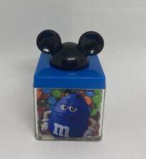 Disney Springs M&M's World Blue Mickey Ears Cube Minis Milk Chocolate New