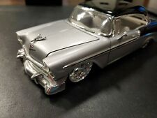 Street Low! 1/24 Jada 1958 Chevrolet Bel Air Dub edition silver & black