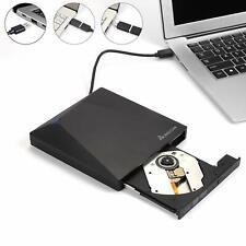USB 3.0 Externes CD/DVD Laufwerk Brenner Player mit Type-C für Laptop Desktop