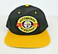 Vintage Annco 80s NFL PITTSBURGH STEELERS Snapback Hat Cap Embroidered Retro NEW
