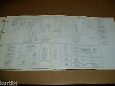 1985 Ford CL9000 truck wiring diagram schematic SHEET service manual