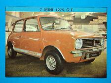 IL MONELLO AUTO '71-Figurina-Sticker n.7 - MINI 1275 G.T.