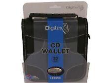 Digitex 32 Pocket CD  DVD Wallet Laguna Storage