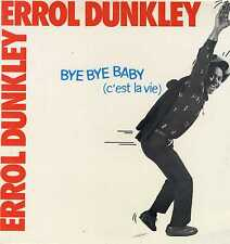 "ERROL DUNKLEY-give me reggae music / bye bye baby   12""   (hear)   reggae"