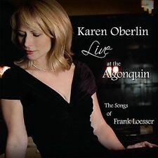Oberlin, Karen : Live at the Algonquin: Songs of Frank Lo CD