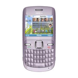 Nokia  C3-00 - Acacia (Ohne Simlock) Smartphone