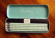 Vera Bradley Camocat Pencil Set With Tin Ten Pencils Pencil Sharpener