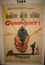 Torn Curtain Original 1sh Movie Poster 1955 Fred MacMurray,