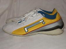 "PIRELLI ""Corsa"" SZ 6 Gold/White/Turquoise Men's Stretch Tennis Shoes Excellent!!"