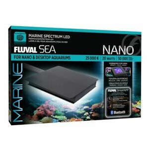 Fluval Sea Marine Bluetooth LED Nano Light for small saltwater aquarium