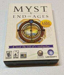 Myst V: End of Ages (PC, 2005) Myst -Adventure Video Game