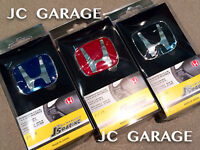 JDM J'S RACING B SIZE RED BLACK BLUE STEERING EMBLEM BADGE