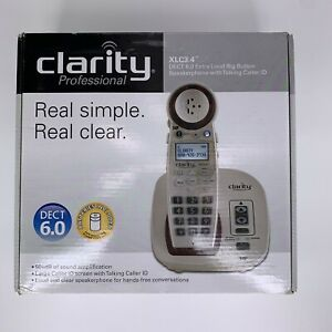 Clarity Professional XLC3.4 Amplified DECT 6.0 Cordless Phone Talking Caller ID