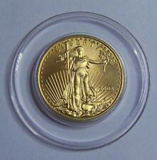 2008 BU $25 half ounce American Gold Eagle from mint tube