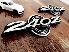 DATSUN 240Z série 1 Arrière Quarter Panel mental émail emblèmes. Ajustement parfait