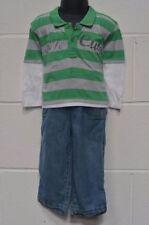 Vestiti verde con maniche lunghe per bambino da 0 a 24 mesi